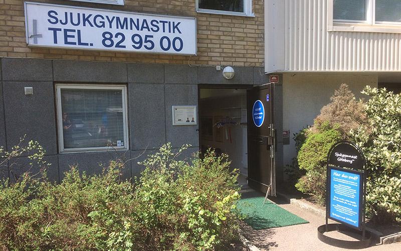 Mottagningen finns på Marklandsgatan 35 i Göteborg