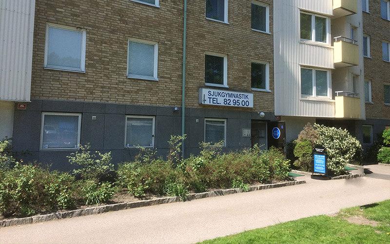 på Marklandsgatan 35 i Göteborg finns mottagningen